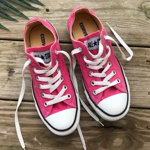 Pink Low Rise Converse